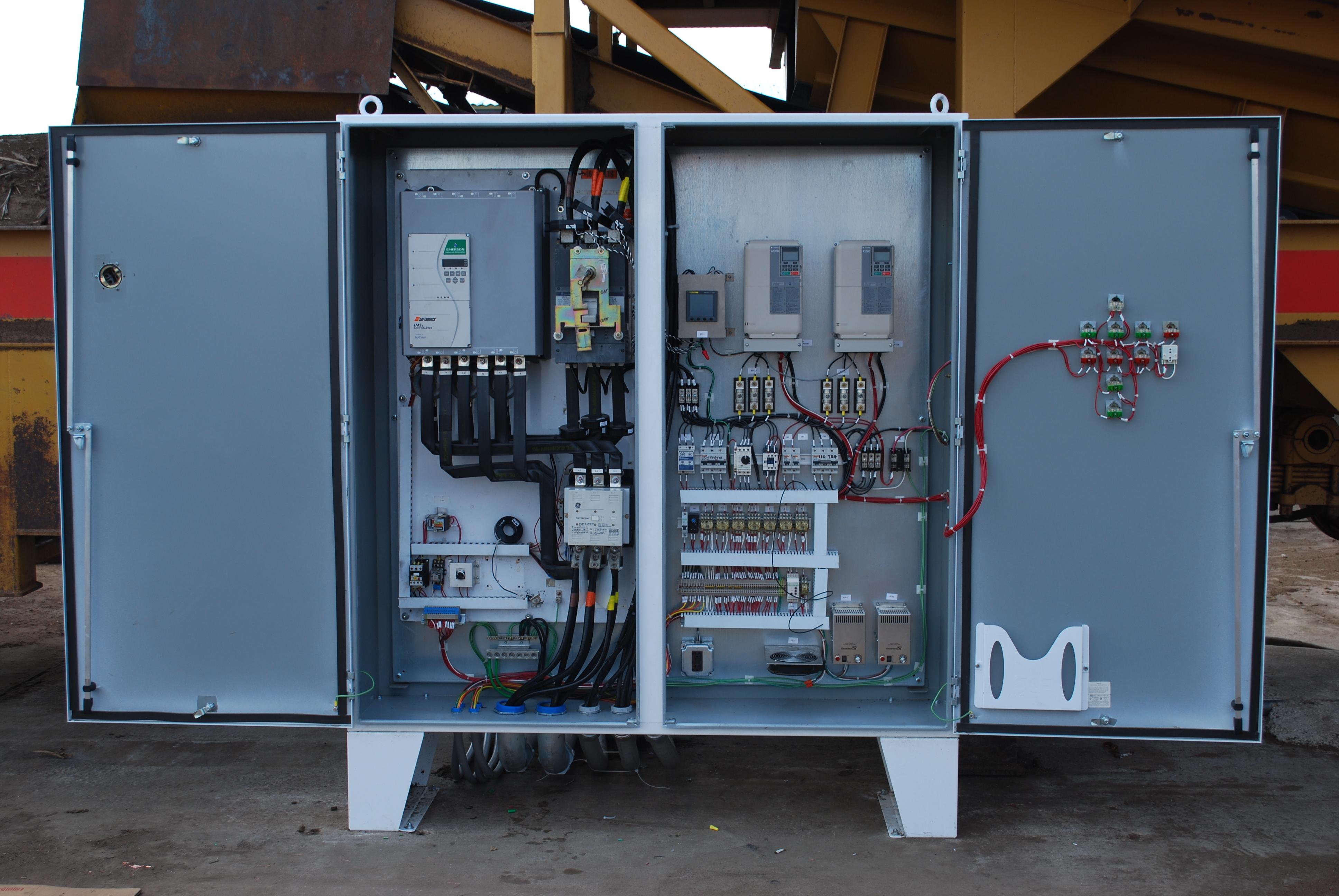 Building Electrical Panel : Controls design build install retrofit merrill